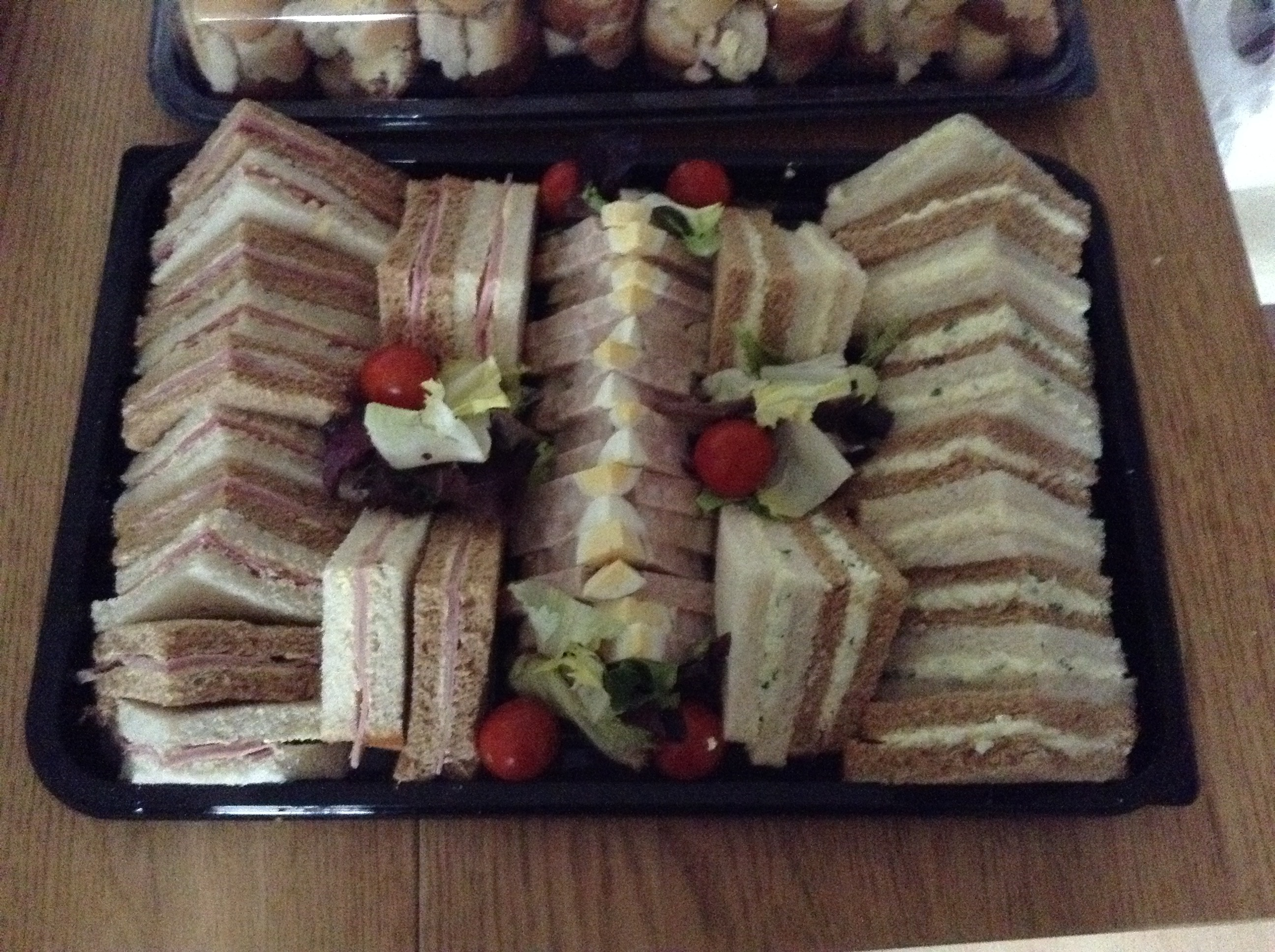 DC Catering Freshly made sandwiches